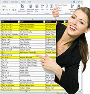 Özel Excel Dersi
