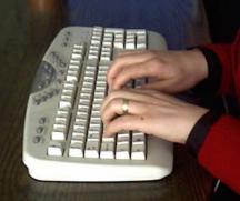 onparmak klavye kullanımında temel sırada turuş tekniği